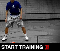 Lateral Shuffle Training Drill