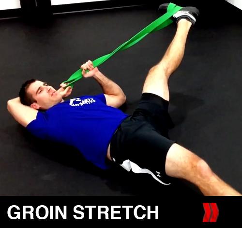 Ballistic Groin Stretch