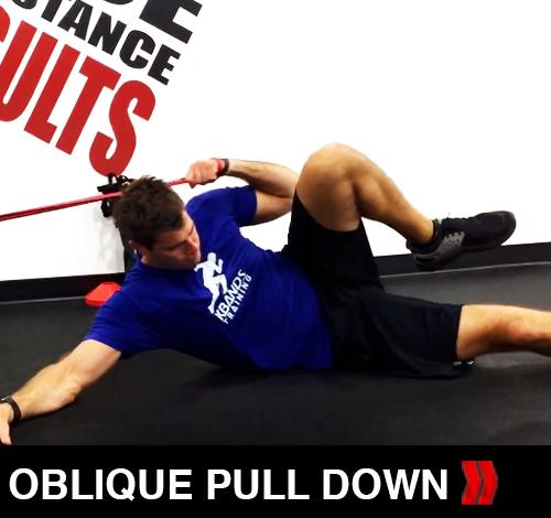 Oblique Pull Down