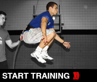 Resisted Vertical Tuck Jumps