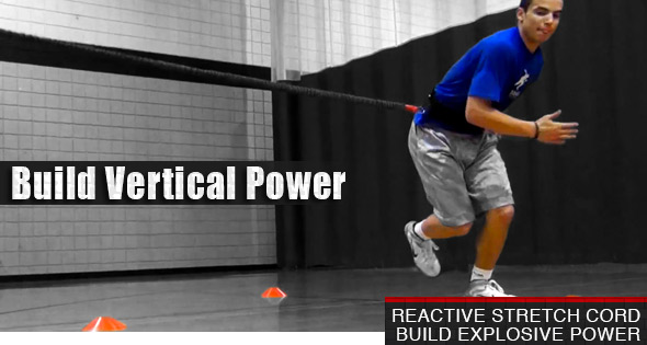 Build An Explosive Vertical With the Reactive Stretch Cord