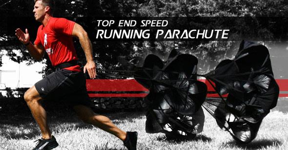 Top End Speed Running Parachute