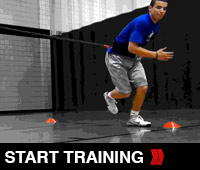 Vertical Lateral Bounding Drill
