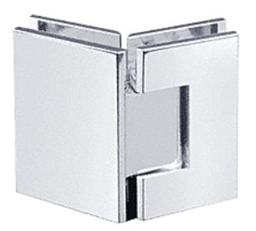 135 degree Glass to Glass Regular Weight Hinge - SQ - bn