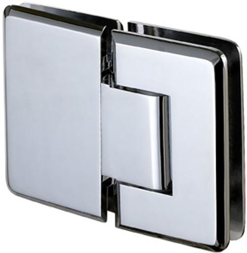 180 degree Glass to Glass Regular Weight Hinge - Bev - bn