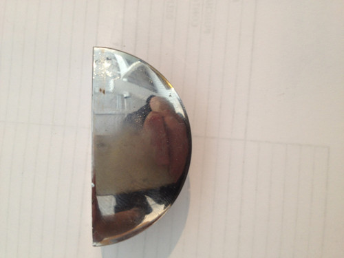 SEMI-CIRCLE SHELF CLAMP  8-10 MM GLASS