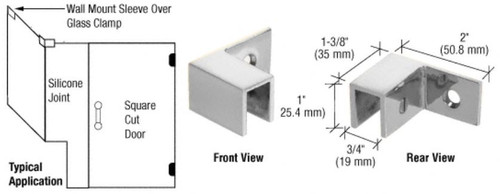 Sleeve Over Clamp Right Mount