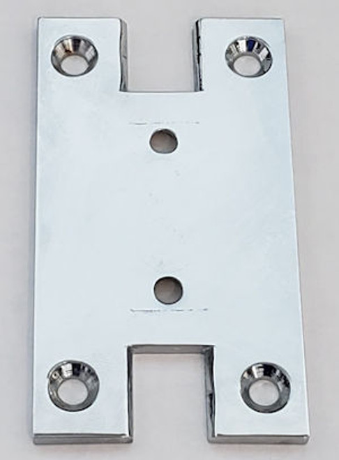 Base plate with  H cutout
