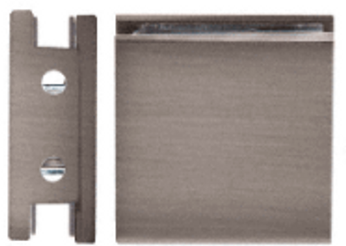 """For 5/16"""" to 1/2"""" (8 to 12 mm) Glass Used to Secure Fixed Panels of Glass for Frameless Shower Enclosures  Solid Brass"""