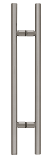LADDER PULL 18 X 18 CENTRE BRUSHED STAINLESS 19X600X1.2-304