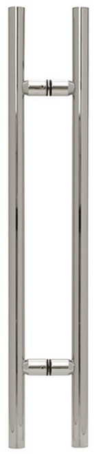 LADDER PULL 72 X 72 BRUSHED STAINLESS