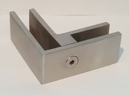 90 DEGREE RAILING CLAMP FOR 10 & 12MM GLASS