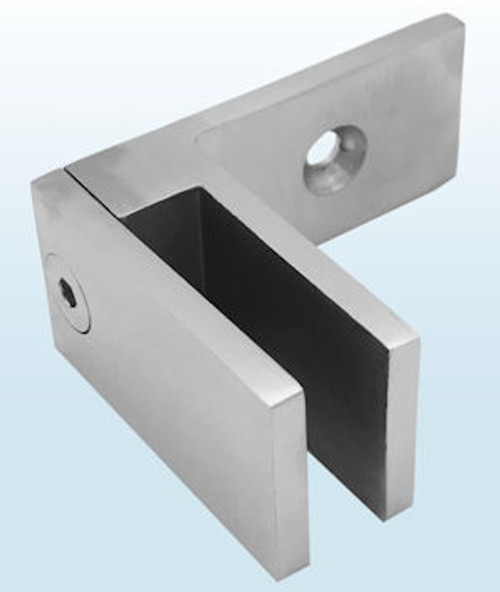STIFFENER FOR RAILING  GLASS TO WALL