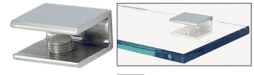 """For 1/4"""" to 3/8"""" (6 to 10 mm) Thick Glass No Glass Fabrication Required"""
