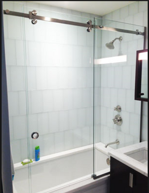 SERENITY GLASS OVER TUB SET OF 2 DOORS