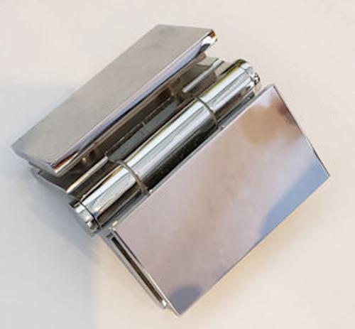 bi-fold hinge chrome
