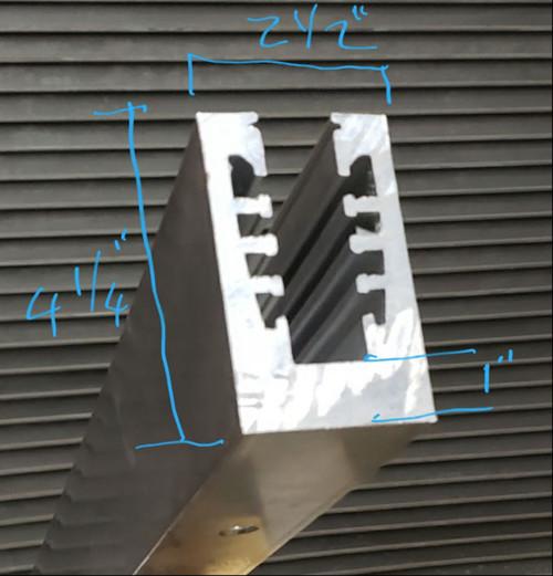Aluminum Base Shoe (Hollow like CRL B5 series)