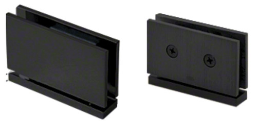Pivot Hinge Square Edge MATTE BLACK