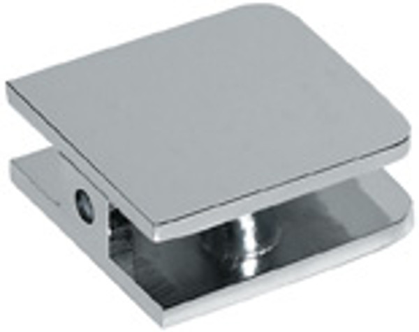 1 hole  44x44 Rounded Edge  Small Clamp - Rounded Square - cp