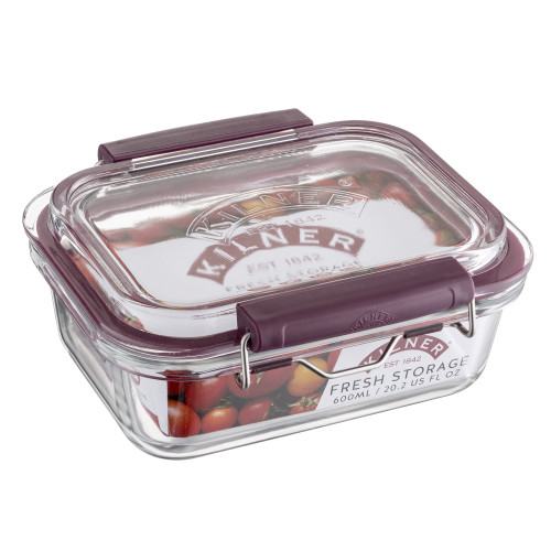 Fresh Storage  Glass Container -20.2oz