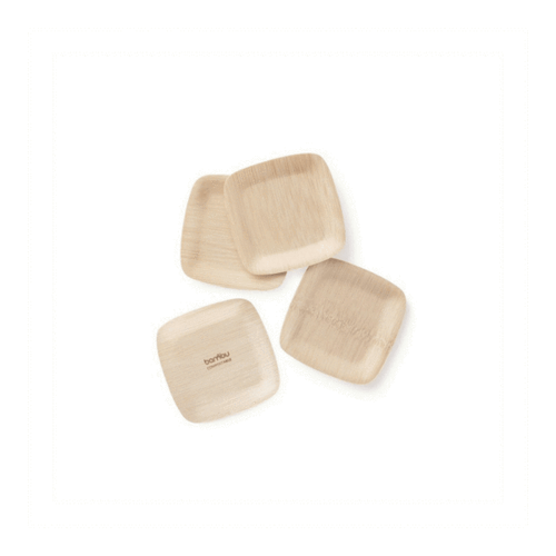 Bamboo Tasting Plate - Pack of 24
