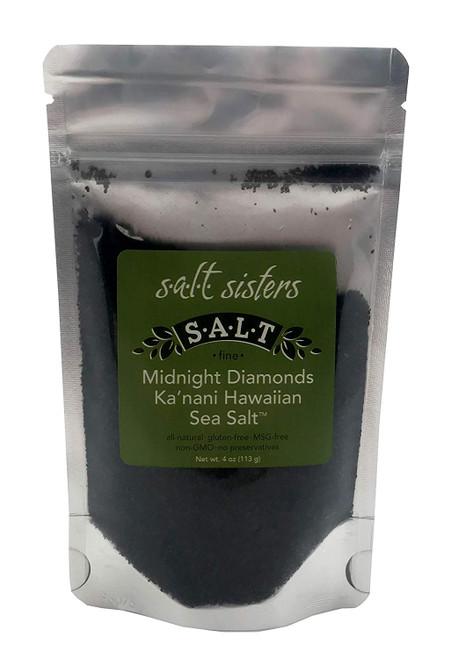 Midnight Diamonds Ka'nani Hawaiian Sea Salt