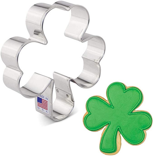 Shamrock Cookie Cutter - Small