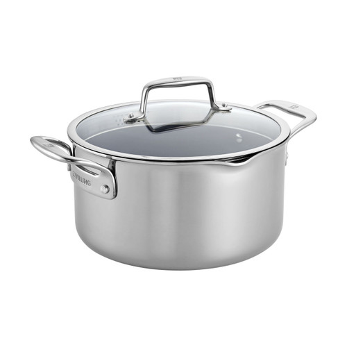 Zwilling Clad CFX Non-Stick 6 Quart Dutch Oven with Lid