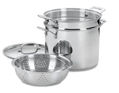 Cuisinart 12 Qt. Pasta and Steamer Set