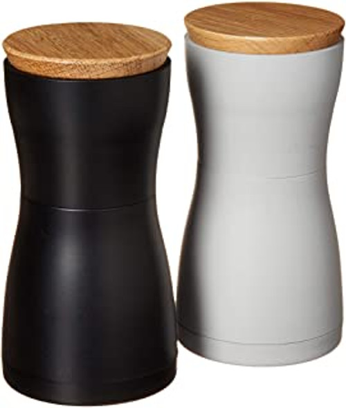 Twin Salt and Pepper Mill Set