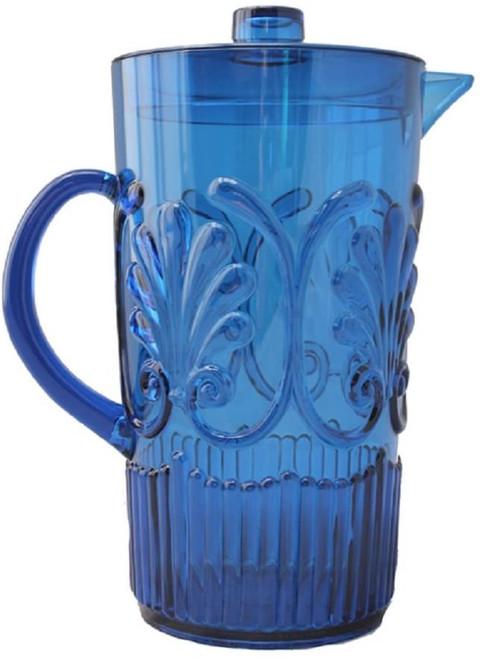 Le Cadeaux Fleur Pitcher -Blue