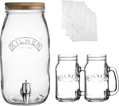 Kombucha Glass Drinks Making Set