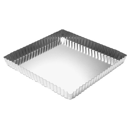 Removable Bottom Tart / Quiche Pan -  Square 9""