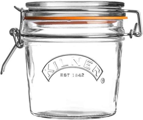 Clip Top Round Jar- 12 oz