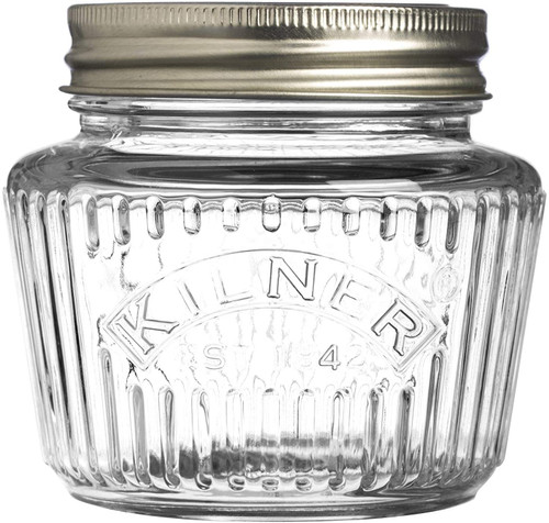 Vintage Canning Jar -8.5oz