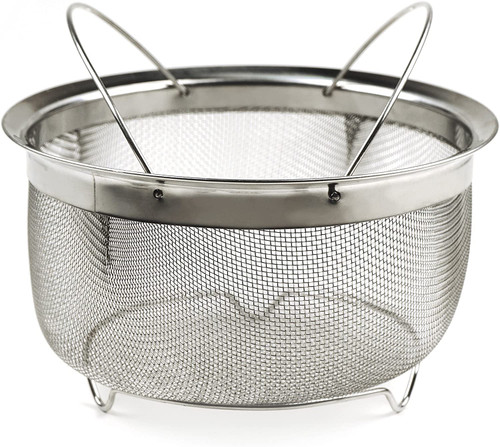 3 Quart Mesh Colander Strainer Basket