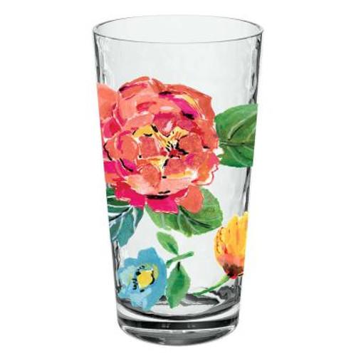 Garden Floral Jumbo Glass
