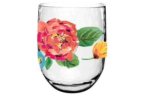Garden Floral DOF Glass