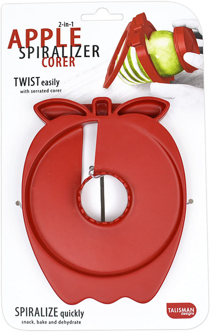 2-in-1 Apple Spiralizer Corer