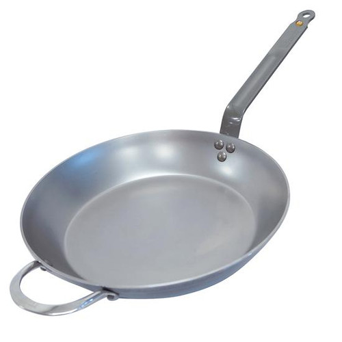 de Buyer Mineral B Carbon Steel Fry Pan 14""