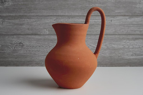 Mexican Clay Hot Chocolate Jug