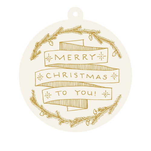 """Merry Christmas' Gift Tags"