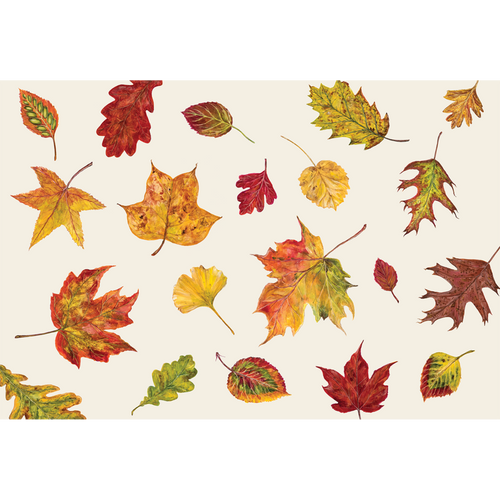 """Fall Foliage"" Paper Placemats"