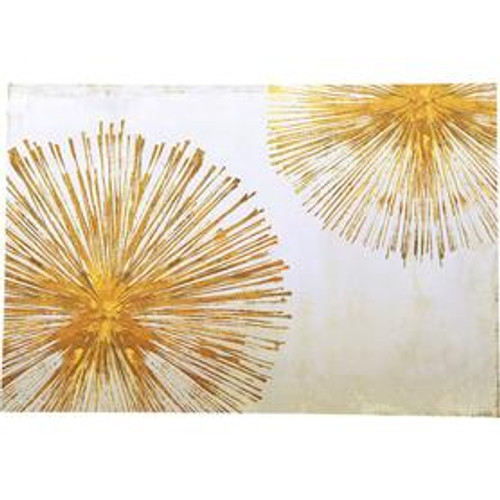 """Gold Sunburst"" Paper Placemats"