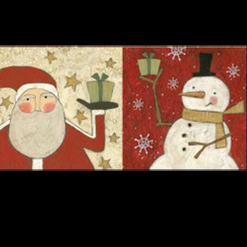 Santa/Snowman Napkins