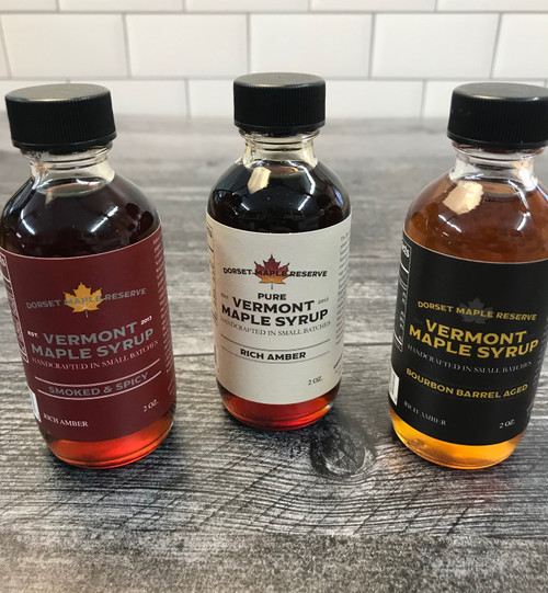 Vermont Maple Syrup - Sampler Set