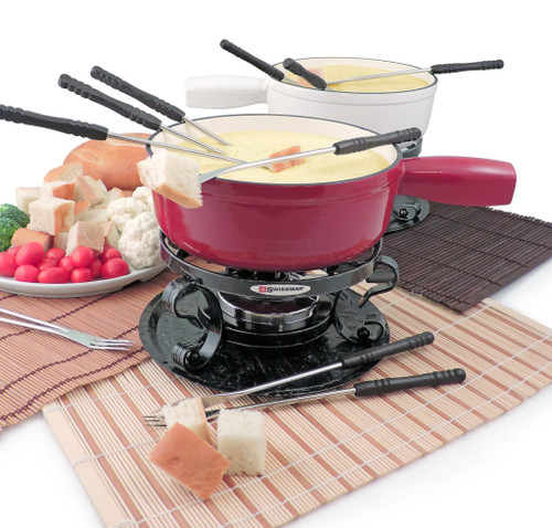 Lugano Cast Iron Fondue Set