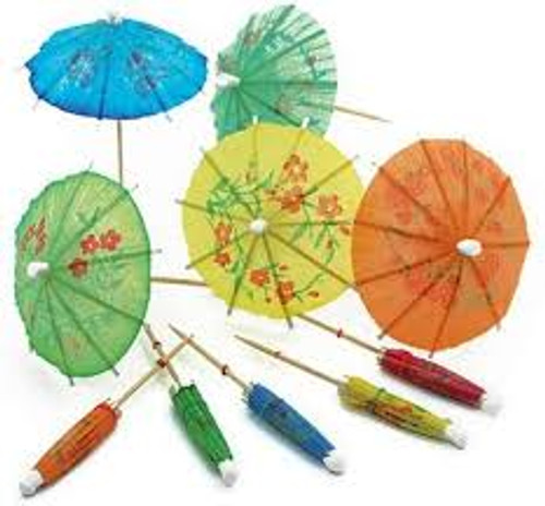 Umbrella Picks - Set of 12