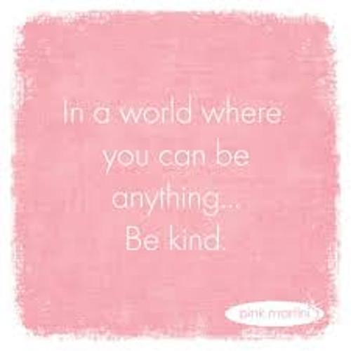 Funny Napkins - Be Kind