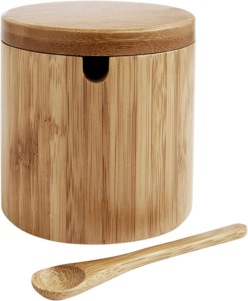 Natural Bamboo Salt Box